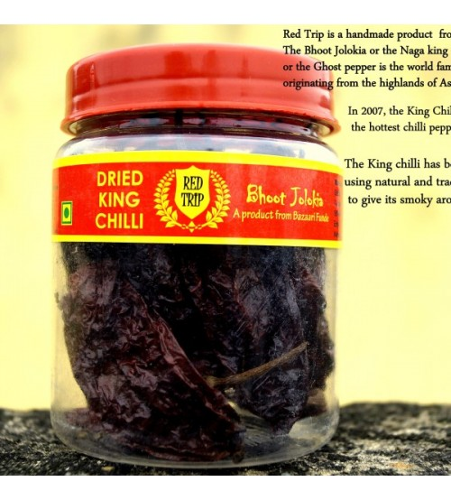 Red Trip - Smoke Dried King Chilli (Pack of 10)