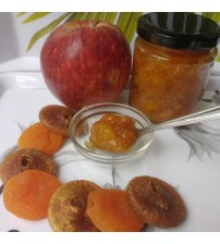 Dry Fruits and Apple Preserve