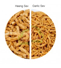 Combo of Heeng Bhujia Sev and Garlic Sev