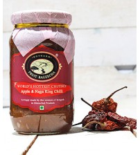 Apple & Naga King Chilli Chutney
